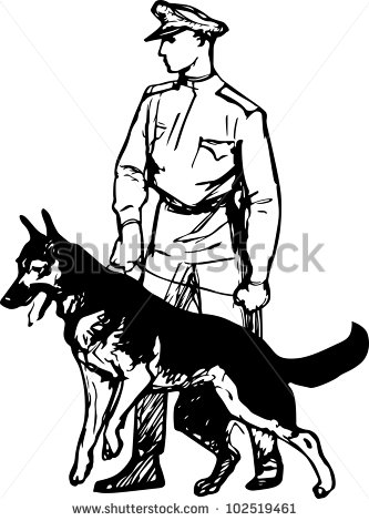 Sentry Dog Stock Vectors & Vector Clip Art.