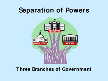 Separation of Powers/ Checks and Balances.
