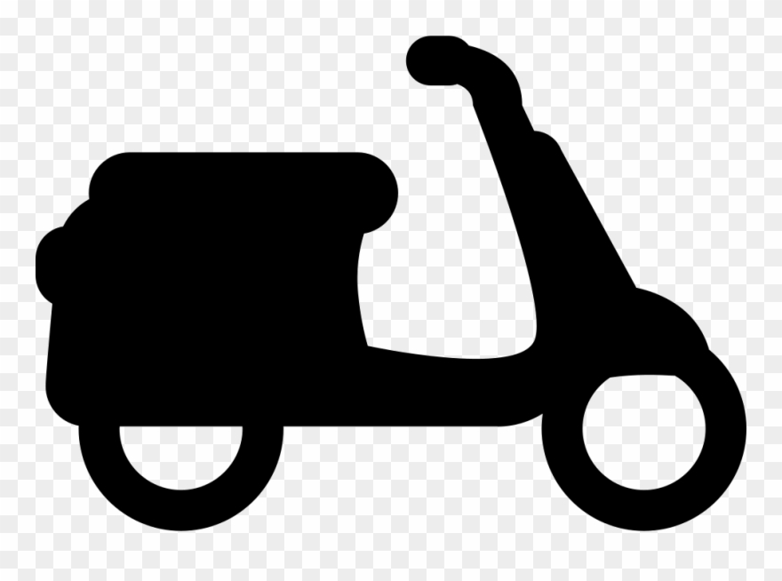 Motor Scooter Svg Png Icon Free Download.
