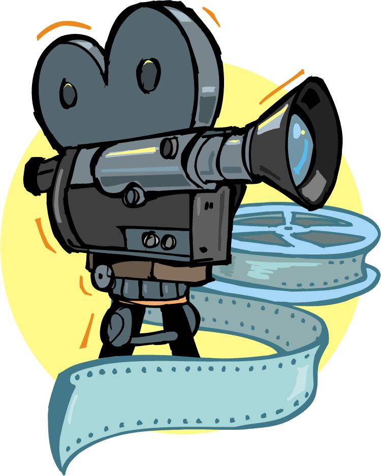 Sephia Film Clipart.