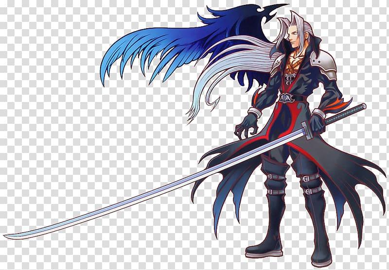 Final Fantasy VII Kingdom Hearts III Sephiroth Cloud Strife.