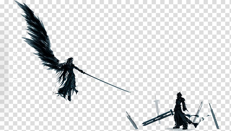 Final Fantasy VII Remake Sephiroth Cloud Strife Video game.