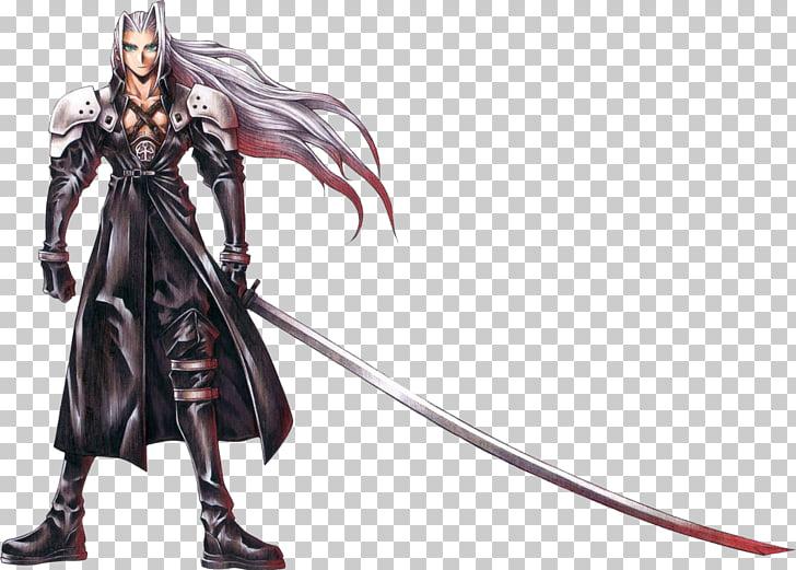 Final Fantasy VII Sephiroth Cloud Strife Aerith Gainsborough.