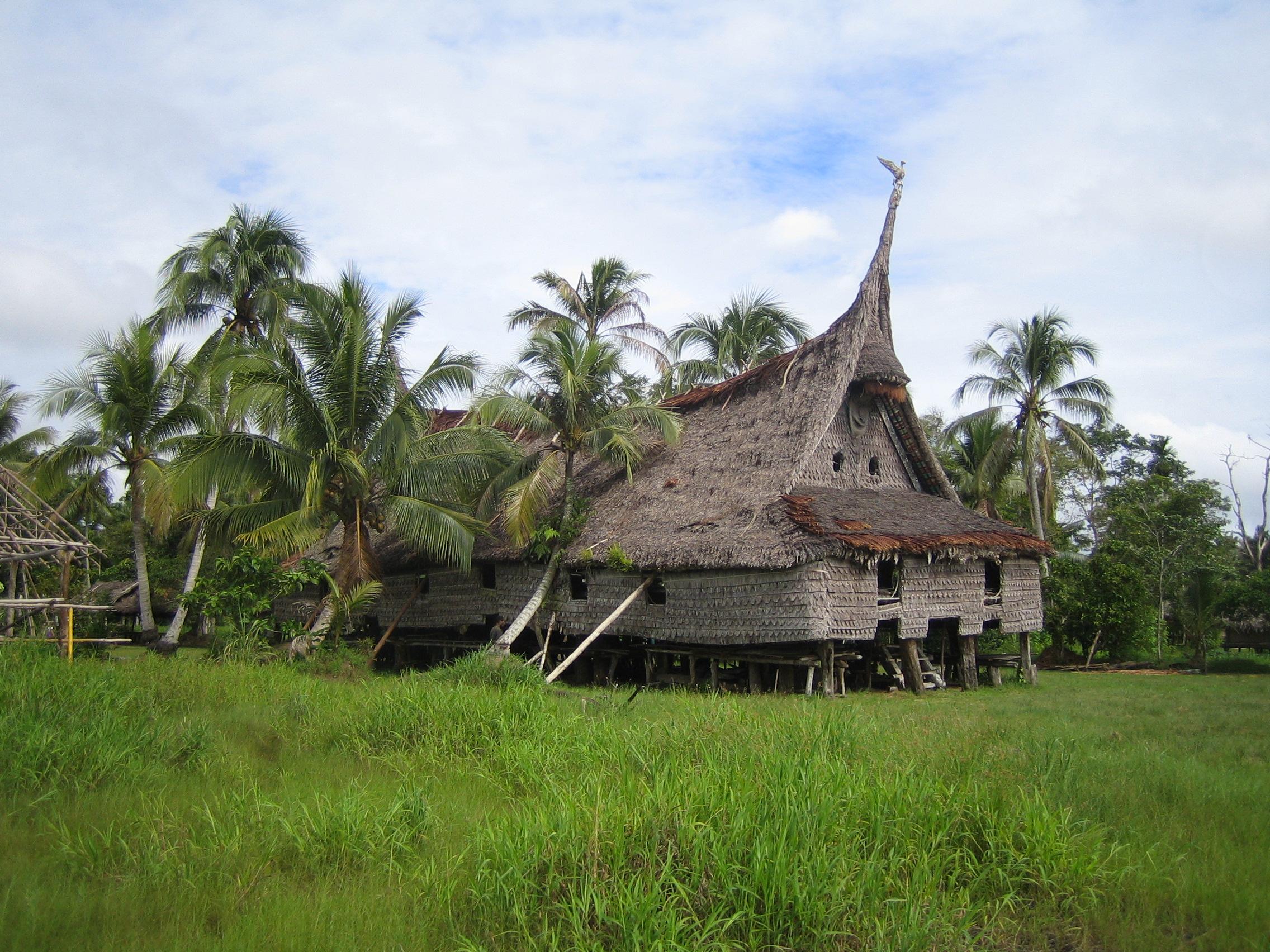 Haus Tambarans, Papua New Guinea 2019.