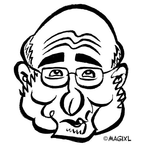 caricature clipart celebrity from the internet and financial.
