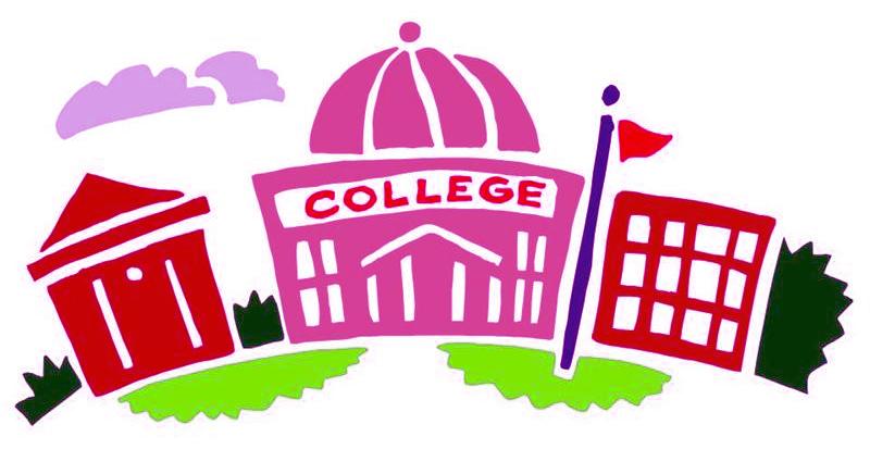 Clip Art College Students Clipart.