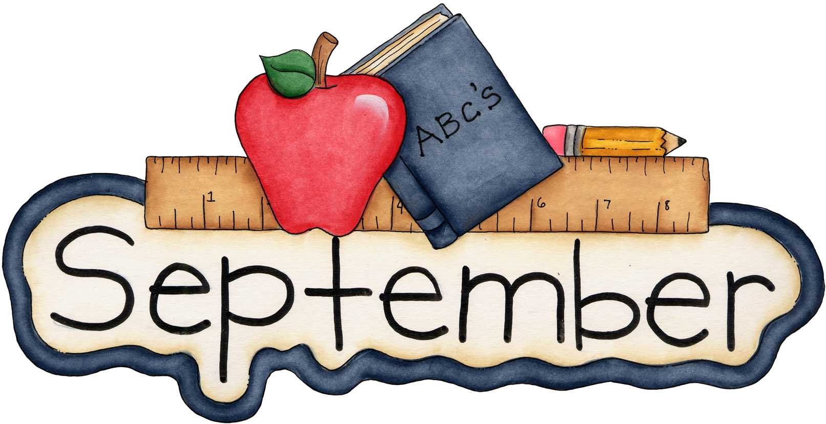Clipart September Calendar.