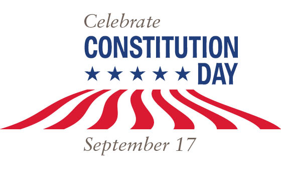 Constitution Day Celebrate The Ratification Of The US Constitution.