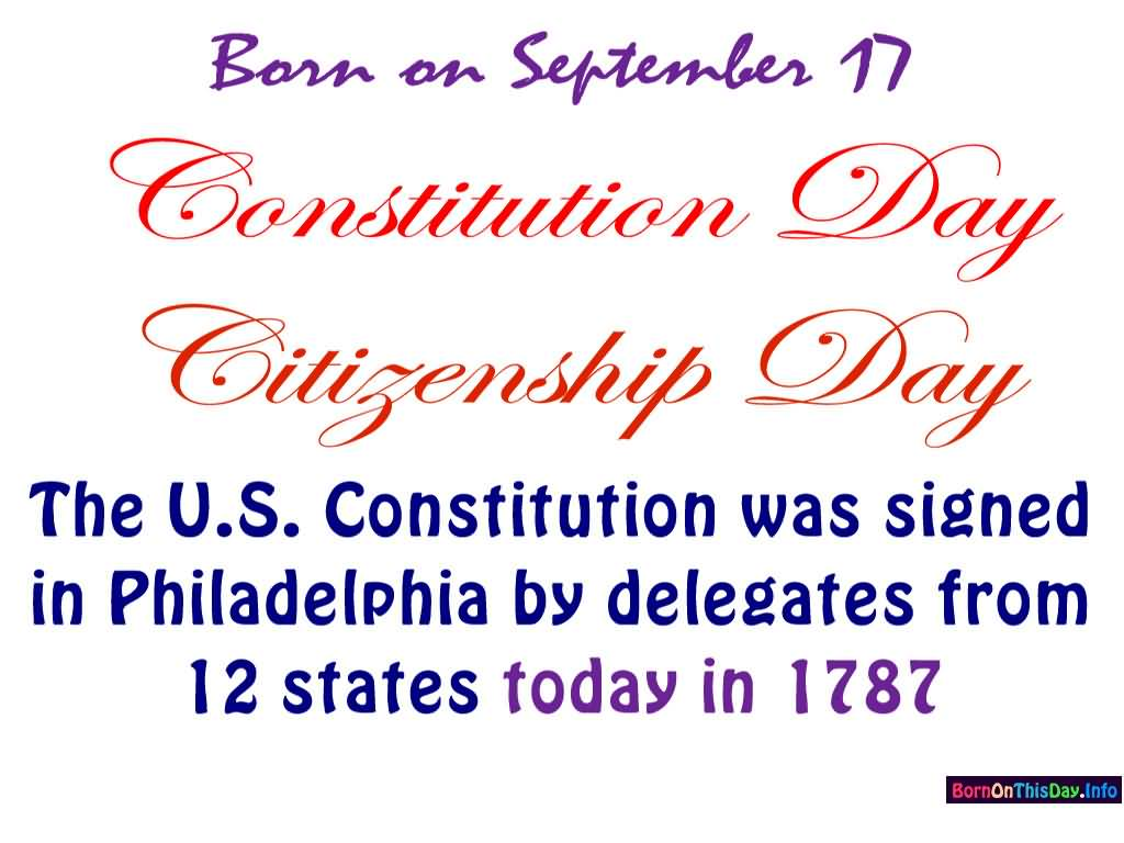 Constitution Day Exercise Your Right To Freedom Of Assembly.