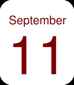 September 11 Clip Art.