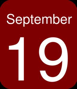 September 9 Clip Art at Clker.com.