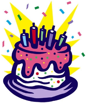 Happy September Birthday Clipart.