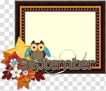 September border transparent background PNG clipart.