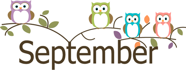 September Month Clip Art.