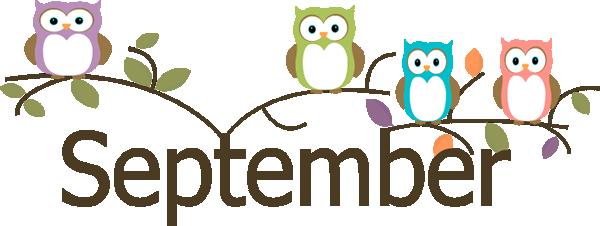 September Month Clip Art.