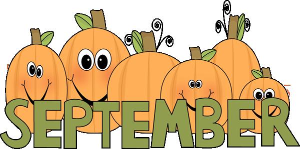 September Clip Art.