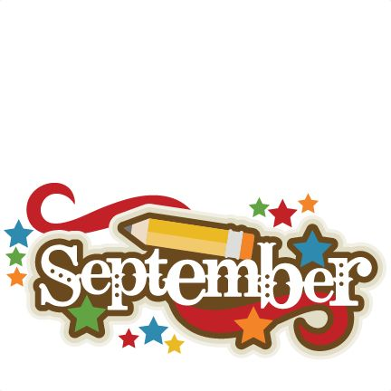 Free clipart images for september.