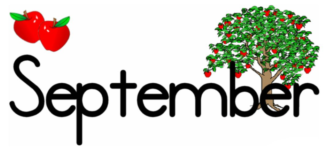 Free September Clipart.