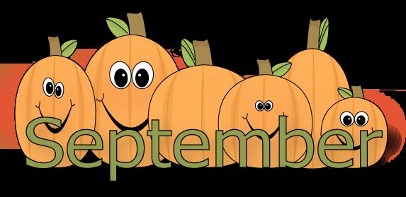 September Background clipart.