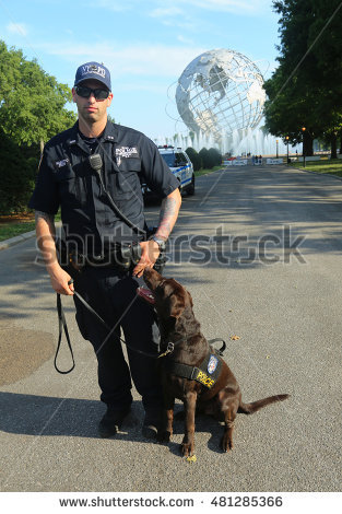 Police officer dog clipart nyc.