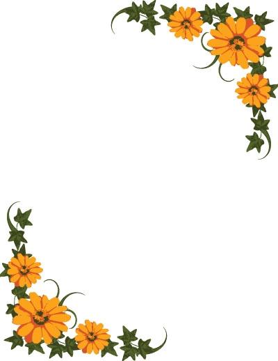 September Flower Clipart.