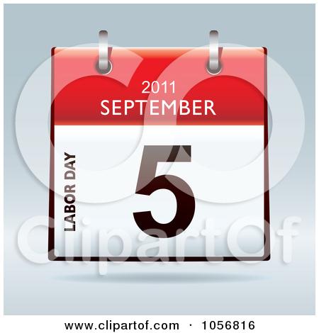 3d Labor Day September 5 2011 Flip Desk Calendar Posters, Art.
