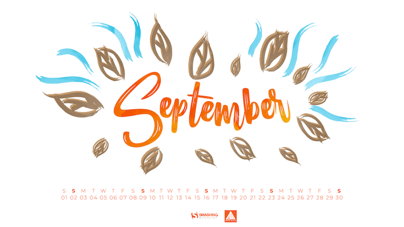 Come Rain Or Come Shine: Inspiring Wallpapers For September.