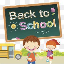 September School Season, School Clipart, School Season.