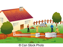 Septic tank Illustrations and Clipart. 45 Septic tank royalty free.