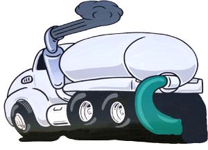 Septic truck clip art.