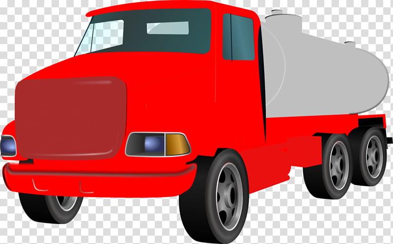 Car Background, Tank Truck, Septic Tank, Hardware Pumps.