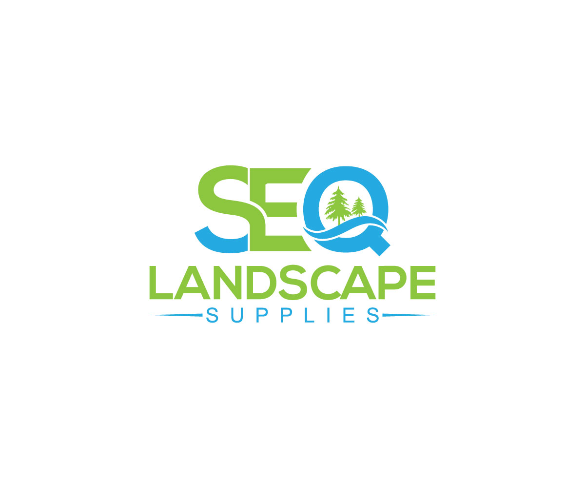 It Company Logo Design for SEQ Landscape Supplies by.
