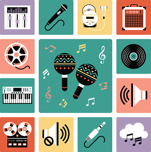Music Sequencer Clip Art, Vector Images & Illustrations.
