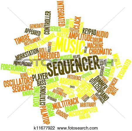 Clip Art of Music sequencer k11677922.