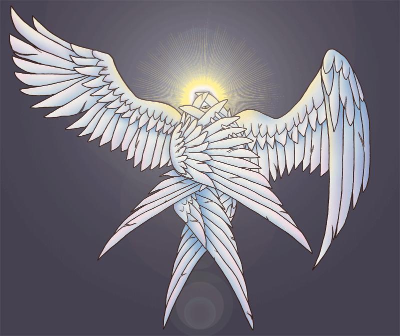 Cherubim and Seraphim.