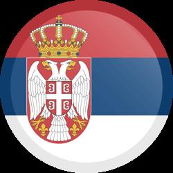 Serbia flag clipart.
