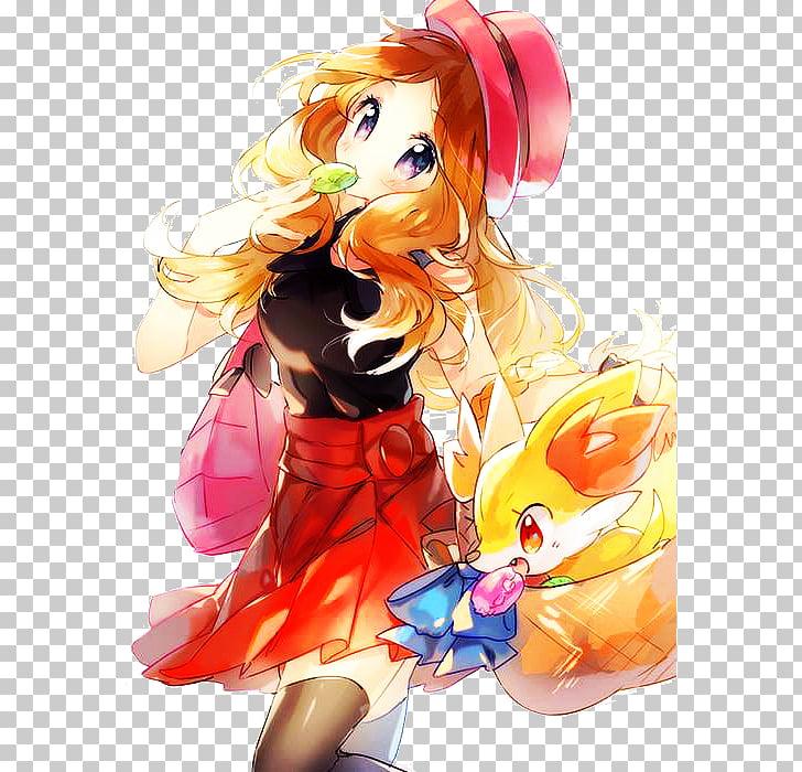 Serena Pokémon X and Y Pikachu Fan art, pikachu PNG clipart.