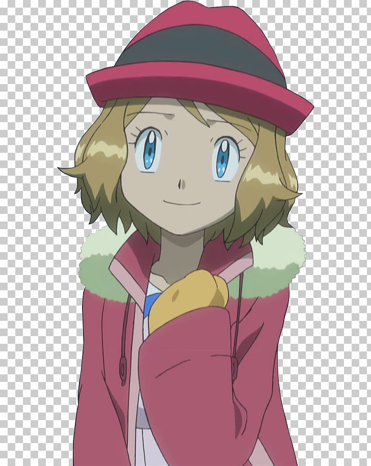 Pokémon X and Y Serena Ash Ketchum Clemont, others PNG.