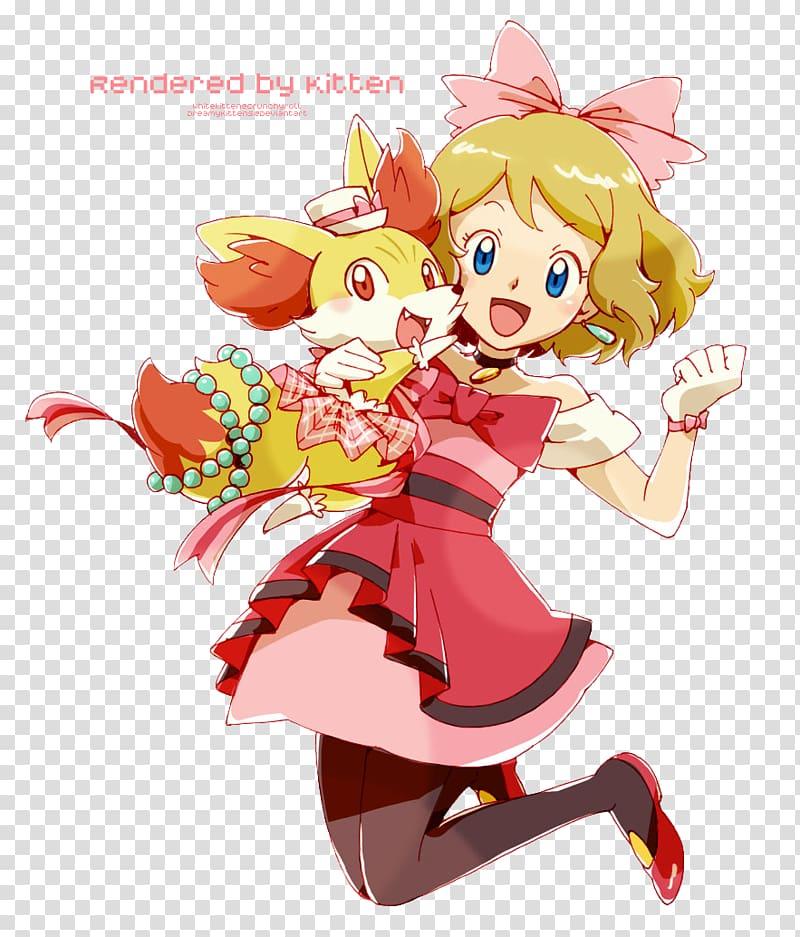 Pokémon X and Y Serena Ash Ketchum Pikachu Misty, Pokemon.