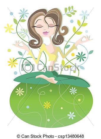 Serene woman Vector Clipart EPS Images. 1,042 Serene woman clip.