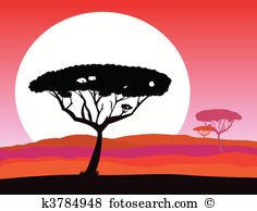 Serengeti Clip Art and Illustration. 97 serengeti clipart vector.