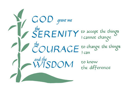Serenity Prayer Clipart.