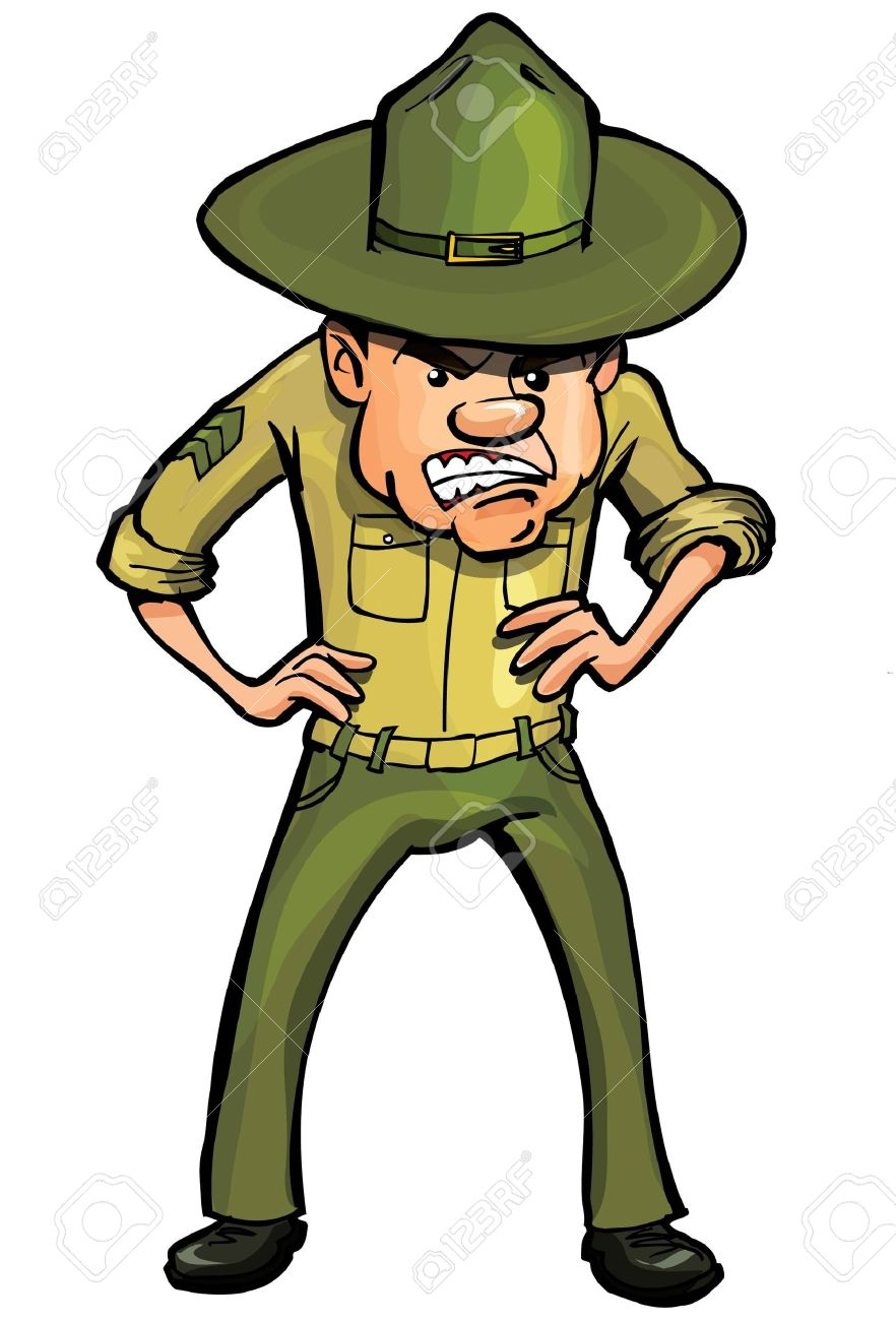 Drill Sergeant Clipart (93+ images in Collection) Page 1.