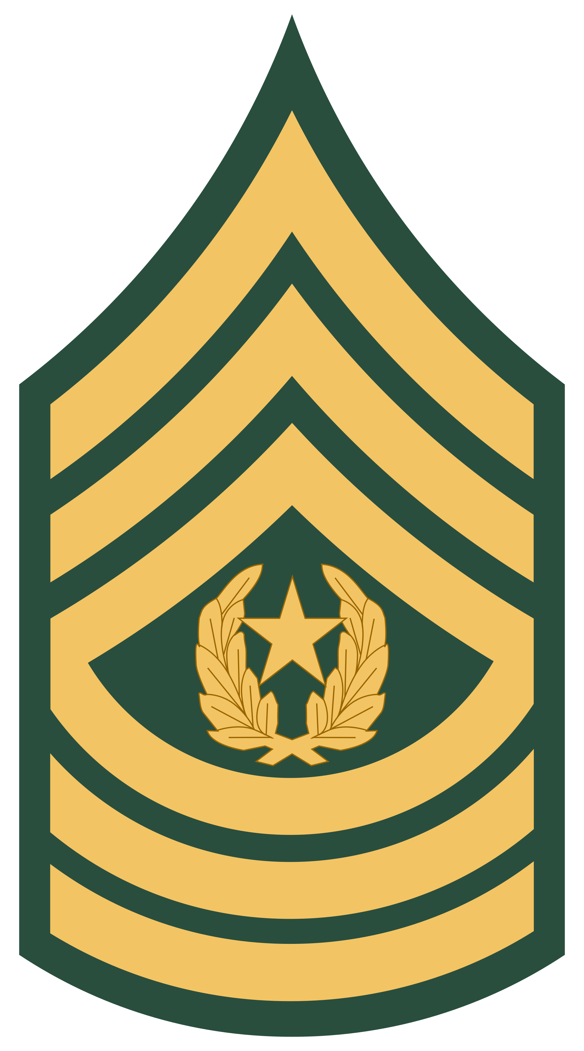 Command sergeant major clipart.