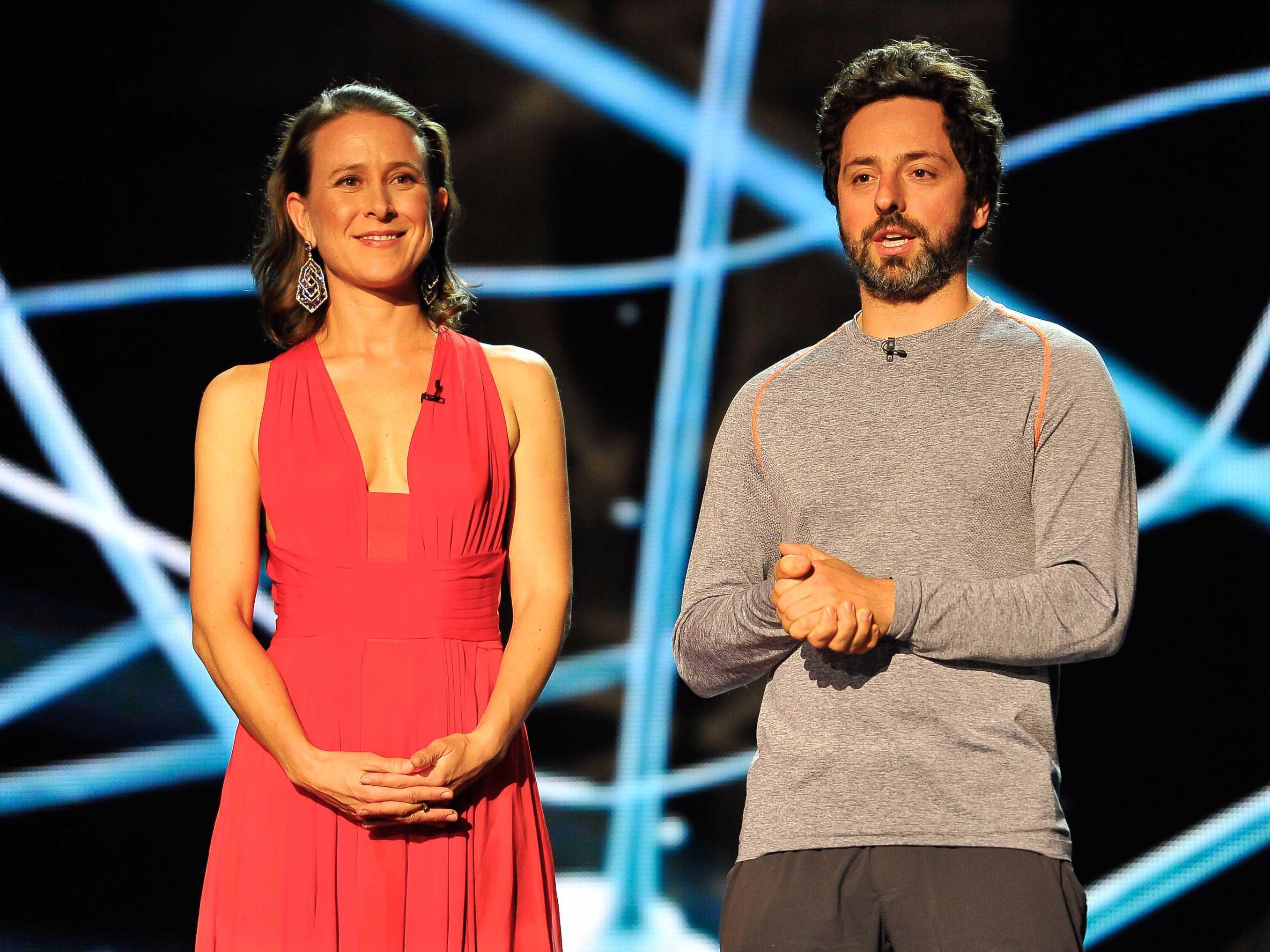 Google's Sergey Brin and Anne Wojcicki divorced.