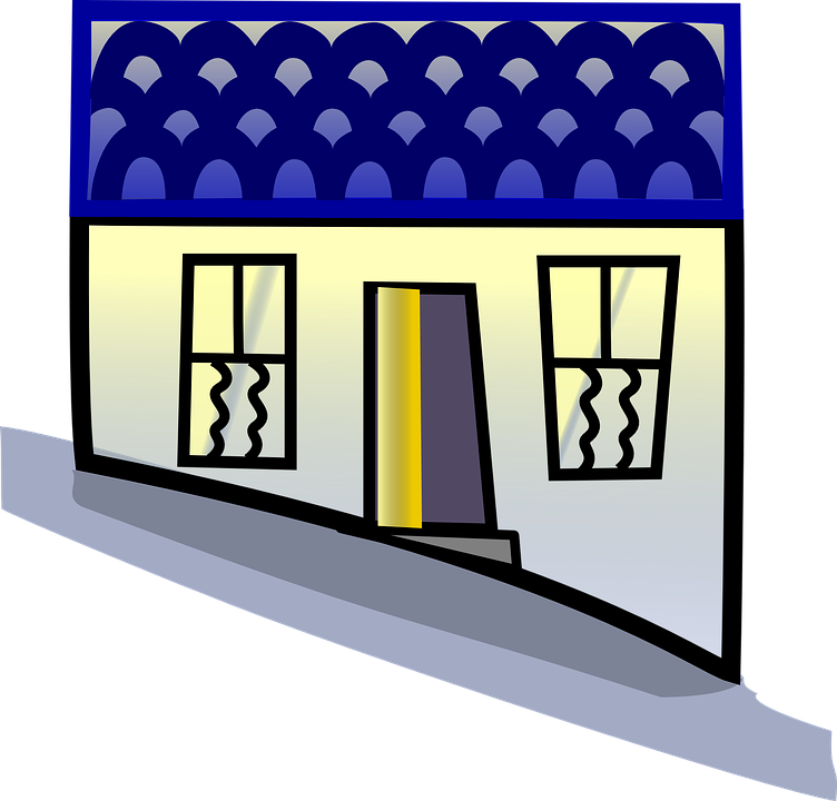Free vector graphic: Row House, Serial House.