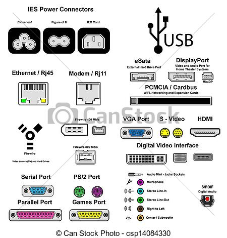 Serial port Stock Illustration Images. 117 Serial port.