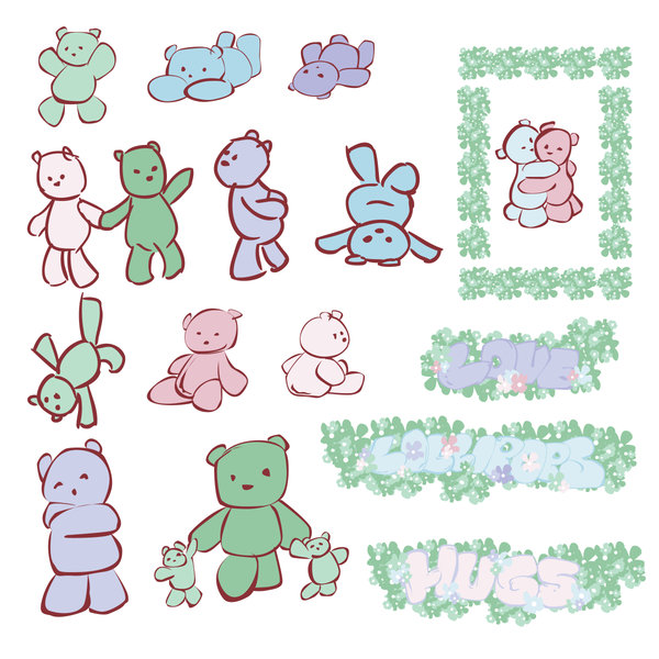 Clipart Series 4 by Chemsem on DeviantArt.