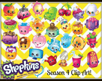 Shopkins season 4 clipart.