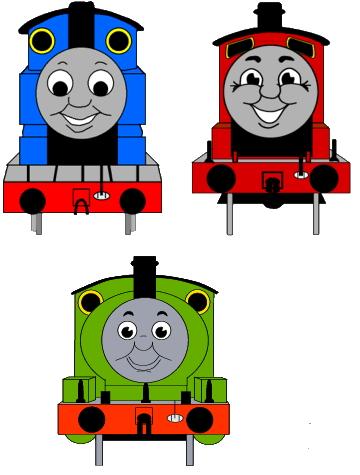 Thomas tank engine Clip Art.
